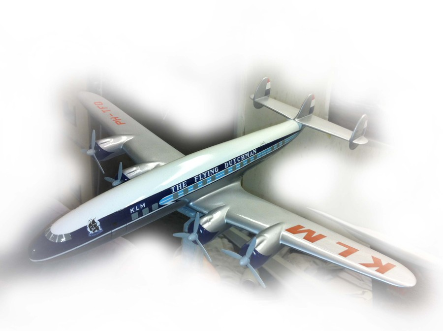 Aircraft replica produced by Westway Models