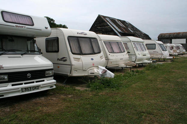 Caravan/motorhome parking