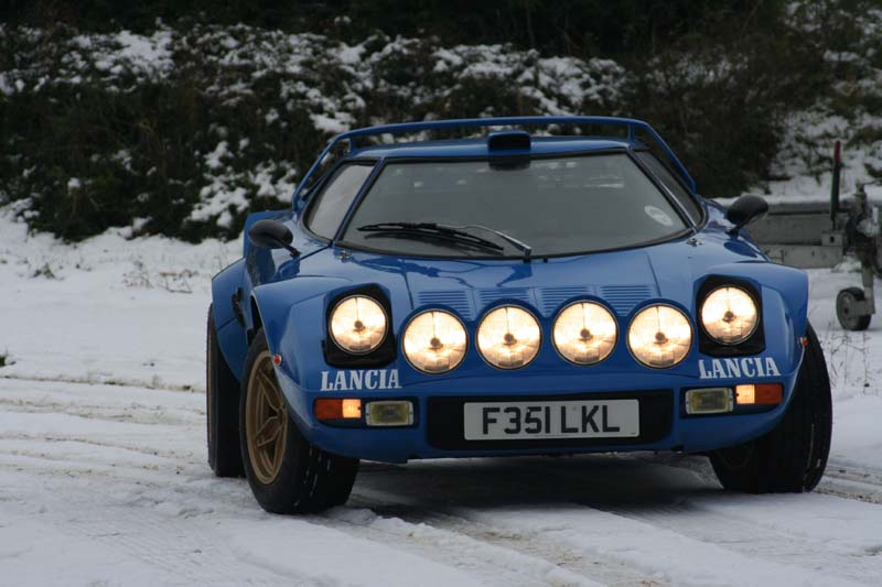 Stratos in the snow
