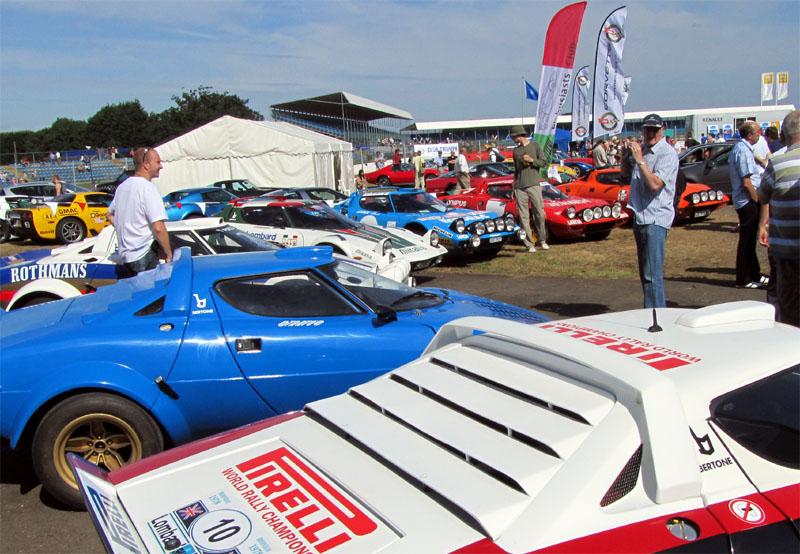 Line of Lancia Stratos