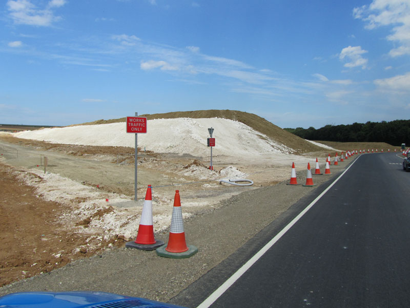 Roadworks for East Kent Acces