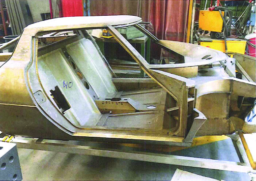 Stratos monocoque