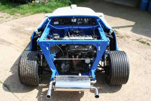 Group 4 Rear suspension, Stratos Replica