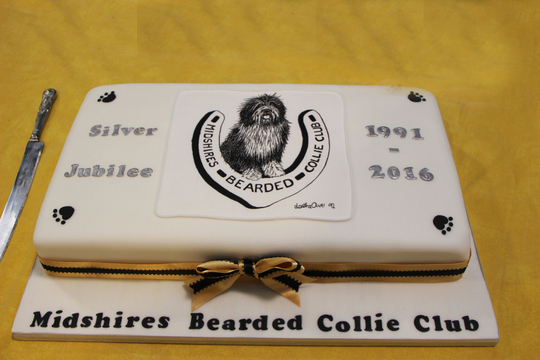 Midshires Bearded Collie Club Silver Jubilee
