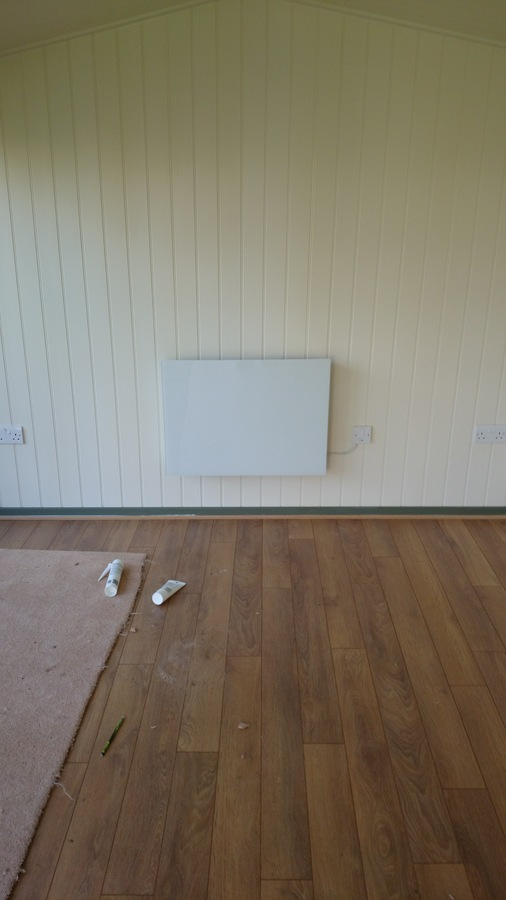 summer house panel heater
