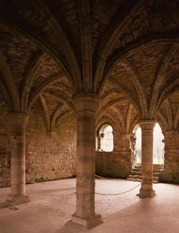 Inside the Chapter House