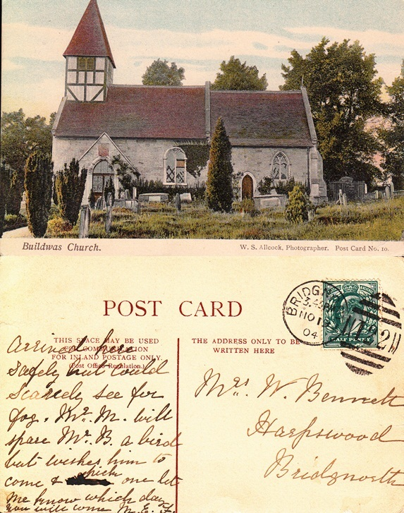 Postcard from Novmber 19th, 1904