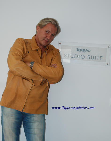 Johnny Logan at Tipp FM