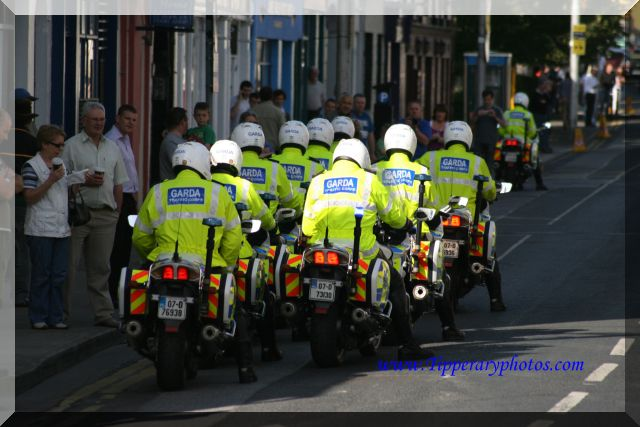 Tour of Ireland Garda Escort