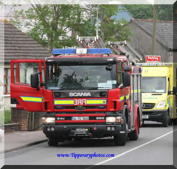 Clonmel`s A1 at housefire