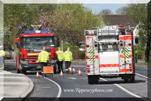 Carrick On Suir at an oil spillage