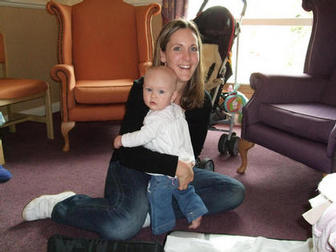 Jessica aged eighteen months