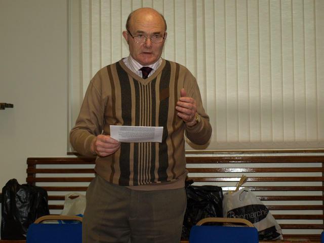 Roy Cooke, NBS Club secretary