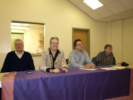 NBS panel at Carlisle 2010.