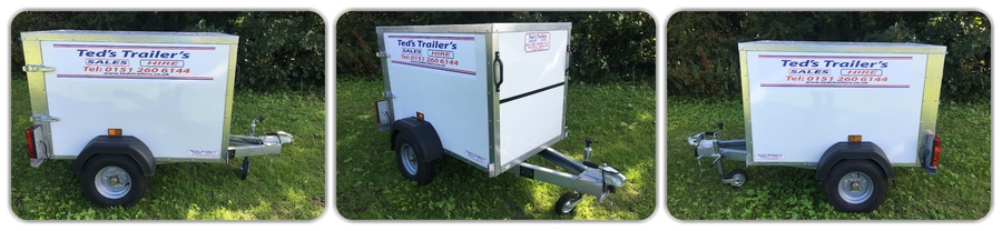 TICKNERS 533 CAMPING BOX TRAILER