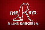The Rays Line Dance Club logo designed by Jemma Westbury