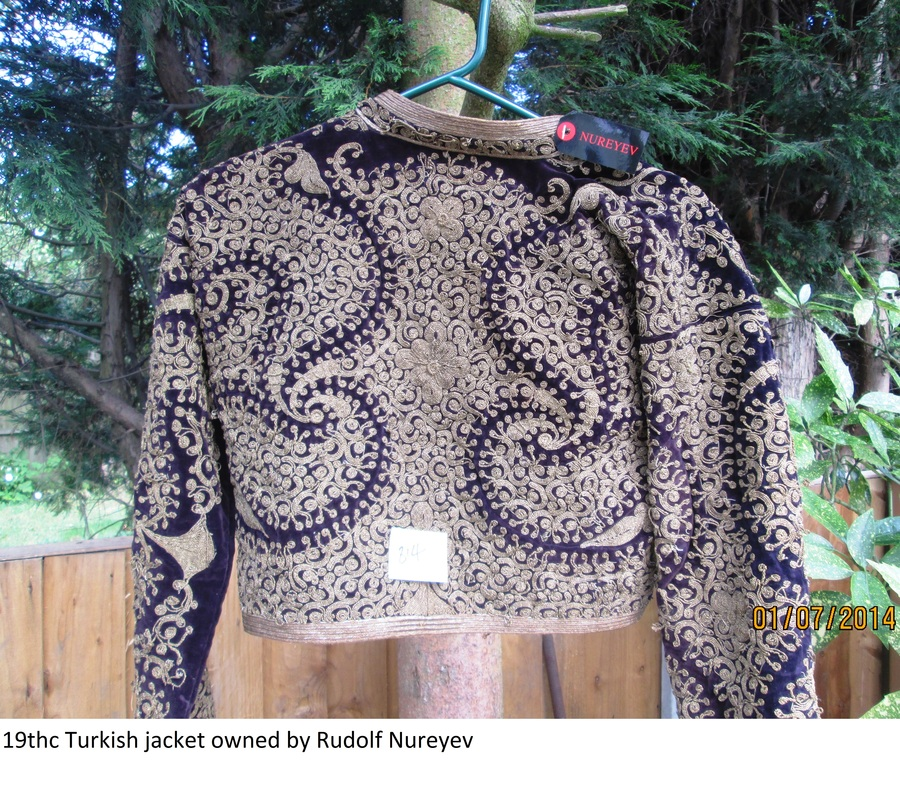 19thc Turkish jacket owned by rodolf Nureyev