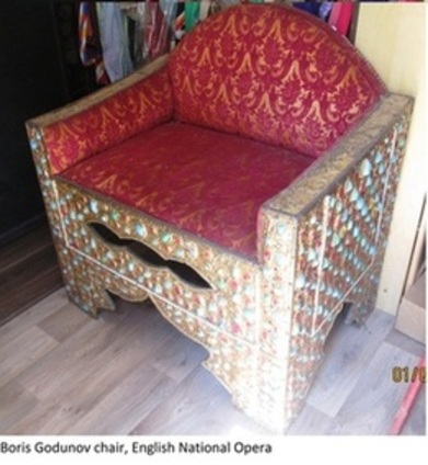 Boris Godunov chair