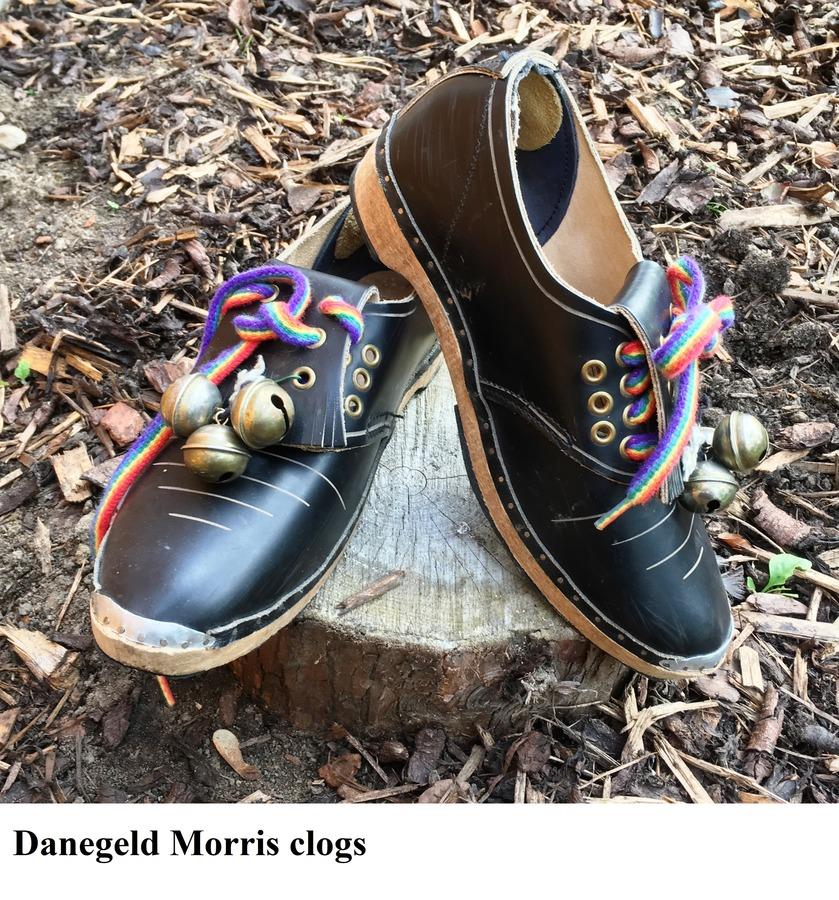 Morris Clogs. Danegeld Morris
