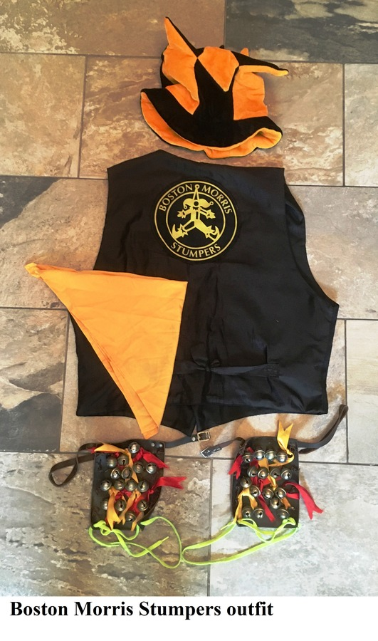 Boston Morris Stumpers outfit
