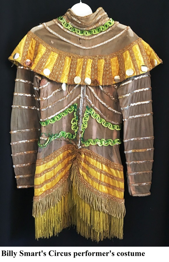 Billy Smart's Circus performer's costume