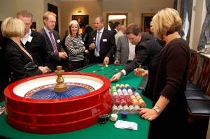 Roulette at a Financial advisors conference