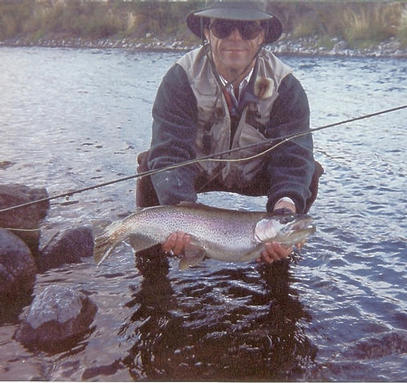Beautiful patagonia fat rainbow