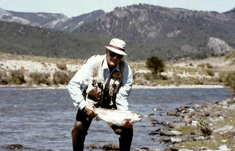 bill with a very fat patagonia rainbow
