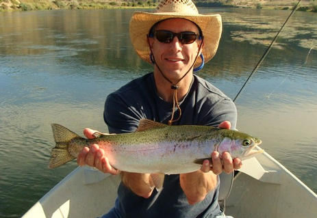 Big Rainbow Missouri River Montana below Holter dam