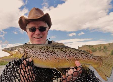 Big Brown , Missouri River /9/10/10