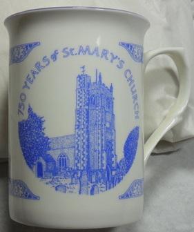 Illustration on mug