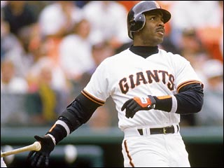San Francisco Giants Slugger, Barry Bonds
