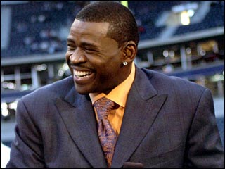 Hall of Fame Receiver, Michael Irvin