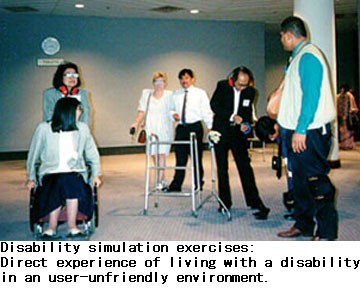 disability simulation exercises