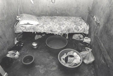 Room that one of the women who was deported to Haiti lived in