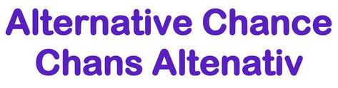 Alternative Chance word logo