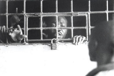 Imprisoned upon arrival to Haiti
