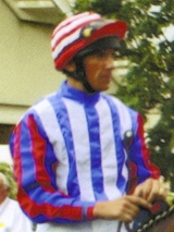 FRANKIE DETTORI IN DOUBLE-R-RACING'S COLOURS