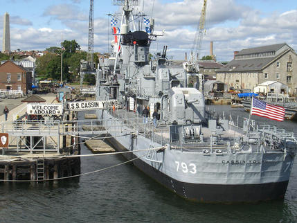 USS Cassin Young, Boston