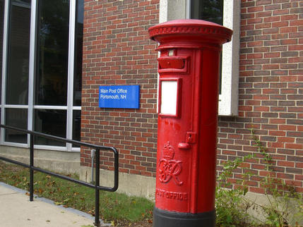 George VI postbox, Portsmouth NH