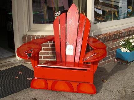 Lobster seat for sale, Kennebunkport