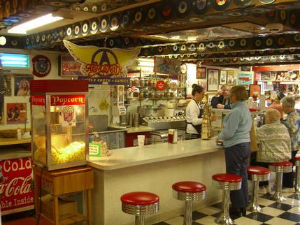 'At the hop' Ice Cream Shop, Bath NH