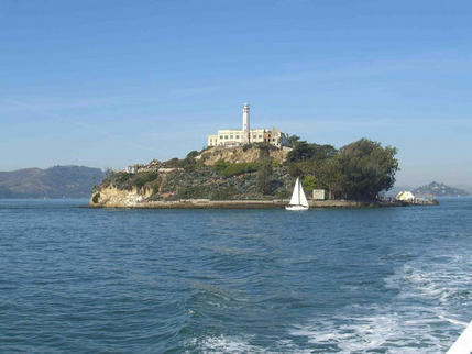 Island of Alcatraz, San Francisco Harbour
