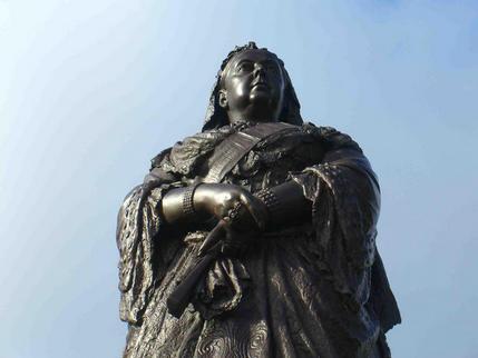 Queen Victoria in Albert Park, Auckland