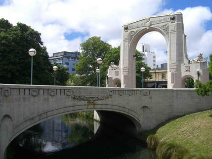 Remembrance Bridge, Christchurch