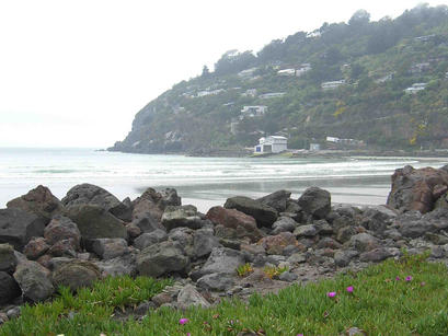 Coastline from Scarborough Park, Christchurch