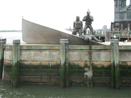 Art at NYC Harbour