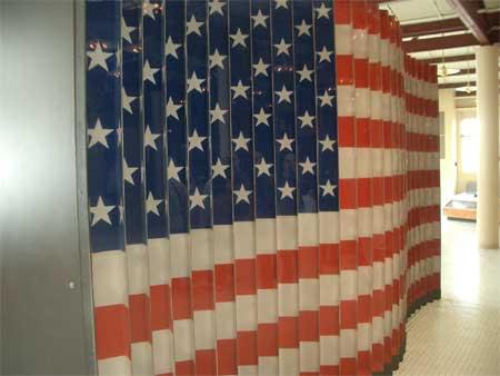 Flag #1, Ellis Island