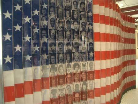 Flag #2, Ellis Island