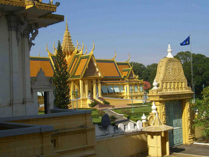 King's Residence, Royal Palace, Phnom Penh